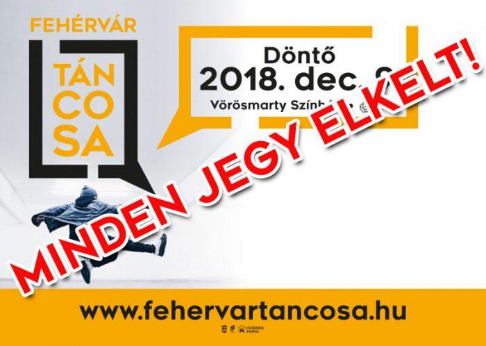 Fehérvár Táncosa – A Döntő @ Vörösmarty Színház