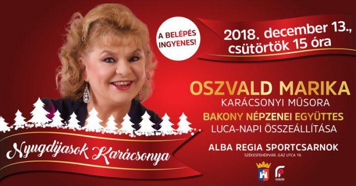 Nyugdíjasok Karácsonya @ Alba Regia Sportcsarnok