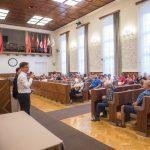 Strandlátogatás másként és vizit a polgármesternél