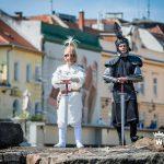 Középkori élő sakk az Emlékhelyek napján