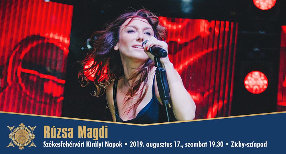 Rúzsa Magdi @ Zichy-színpad