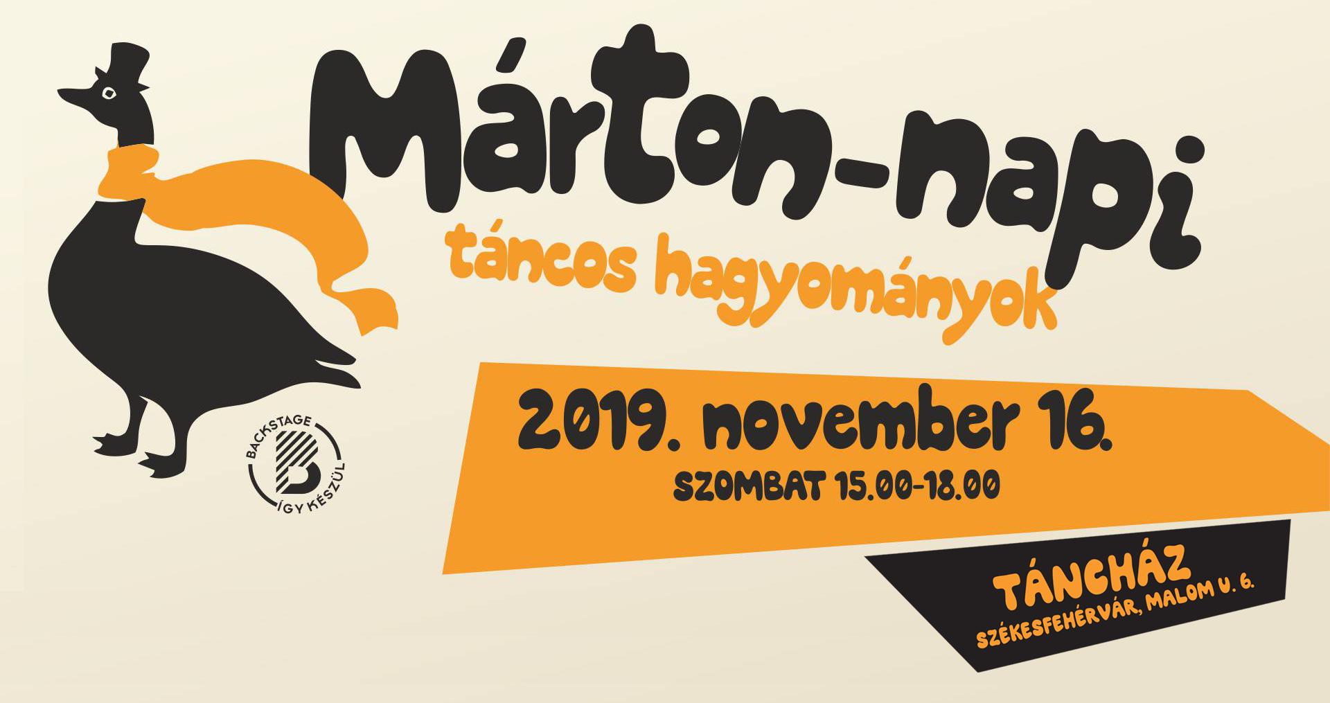 Márton-napi táncos hagyományok @ Táncház