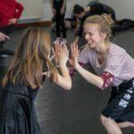 Balettművészek testközelben