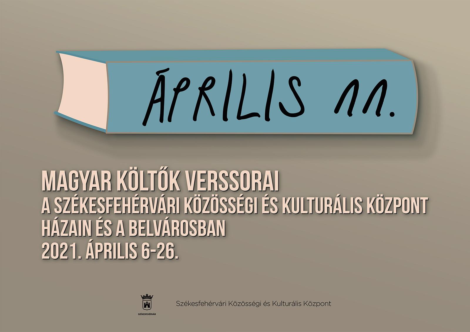 A magyar költészet napja @ Székesfehérvár