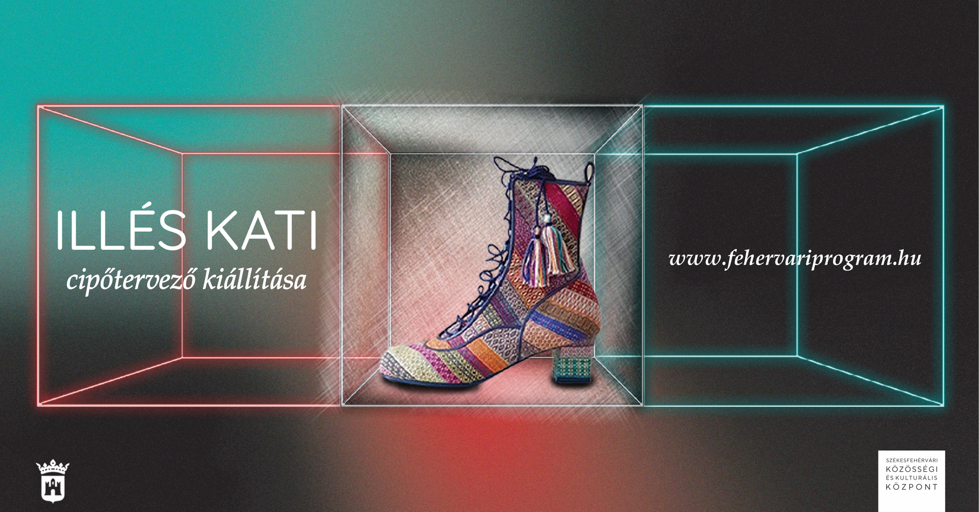 Illés Kati cipőtervező kiállítása @ Székesfehérvári Közösségi és Kulturális Központ