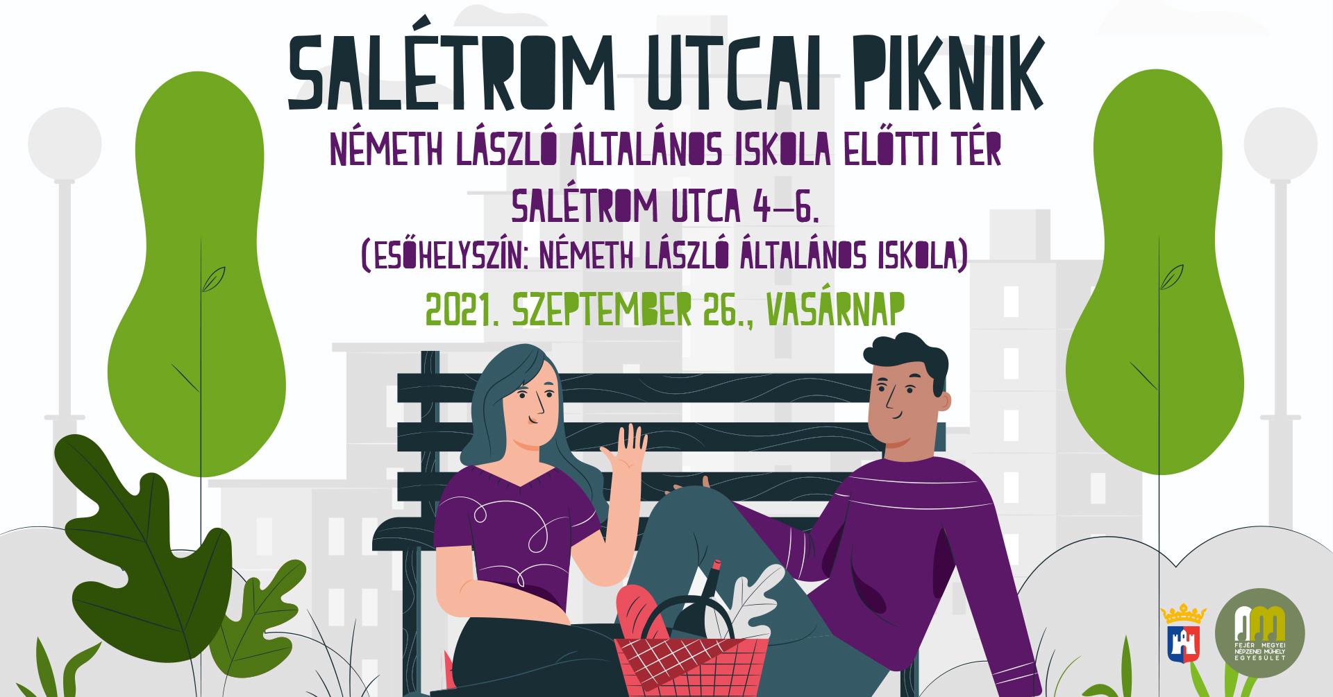 Salétrom utcai piknik @ Németh László Általános Iskola előtti tér